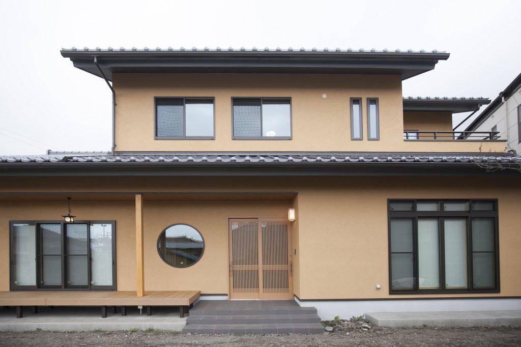 二間続きの和室や坪庭、こだわりぬいた現代和風の家 富士市S様邸